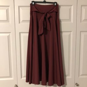 Dresses & Skirts - A-line skirt with bow